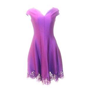 Plum A line dress